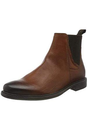 Geox Hombre Botines - U TERENCE DK COGNAC Men's Boots Chelsea size 45(EU)