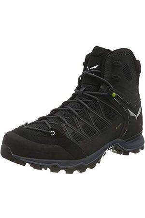 Salewa Hombre Zapatillas deportivas - MS Mountain Trainer Lite Mid Gore-Tex, Trekking-& Wanderstiefel Hombre, (Black/Black 0971)