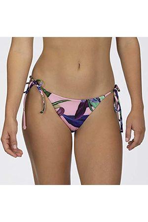 Hurley W Rvsb Orchid Snack Surf Bottom Parte De Abajo Bikini, Mujer