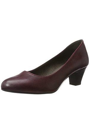 Soft Line Mujer Tacón - 22463, Zapatos de Tacón Mujer, (Bordeaux)