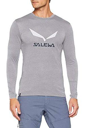 Salewa Solidlogo Dry M L/S tee