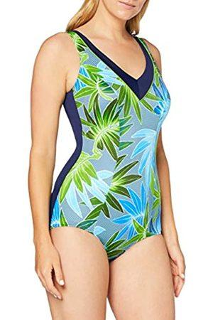Fashy Mujer Bañadores - Damen Badeanzug Traje de baño de una Sola Pieza, Mujer