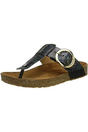 HAFLINGER Mujer Zapatos - Round Buckle Corinna, Chanclas Mujer