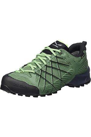 Salewa MS Wildfire Gore-TEX, Zapatos de Senderismo Hombre, Azul (Myrtle/Fluo Green)