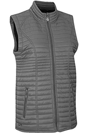 Island Green Mujer De entretiempo - Lightweight Thermal Breathable Padded Gilet Golf Top Jacket, Womens