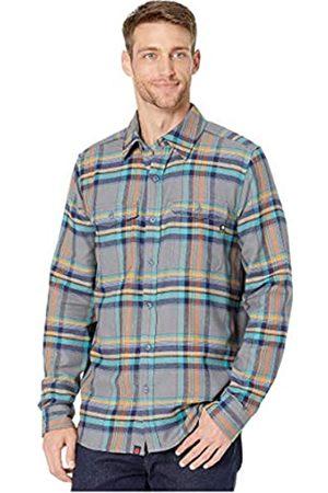 Marmot Hombre Manga larga - Zephyr Cove Mid WT Flannel LS - Camiseta de Manga Larga para Hombre, Hombre, 44560-1415-3-S