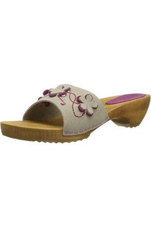 Sanita Mujer Sandalias - Chase Sandal 451113-24 - Sandalias de Cuero para Mujer, Color