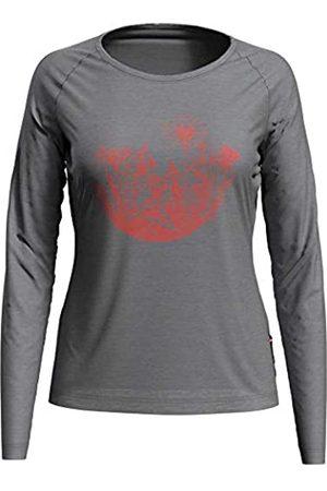 Odlo Mujer Sudaderas - Sudadera de Cuello Redondo Concord para Mujer, Jaspeado, Estampado de círculos, SS20