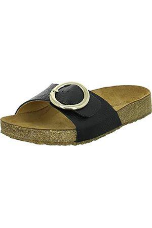 Haflinger Mujer Zapatos - Round Buckle Gina, Chanclas para Mujer