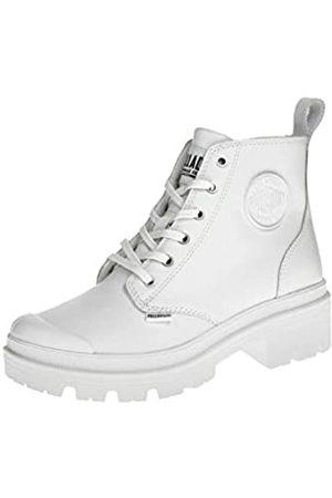 Palladium PALLABASE Leather, Zapatillas Mujer, White/White