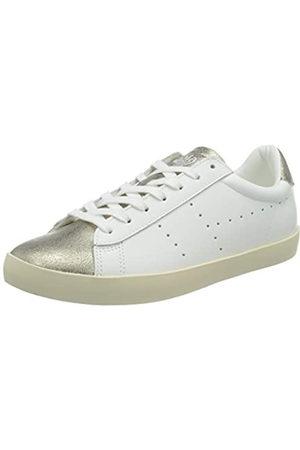 Gola Mujer Zapatillas deportivas - Nova Metallic, Zapatillas Mujer, White/Gold