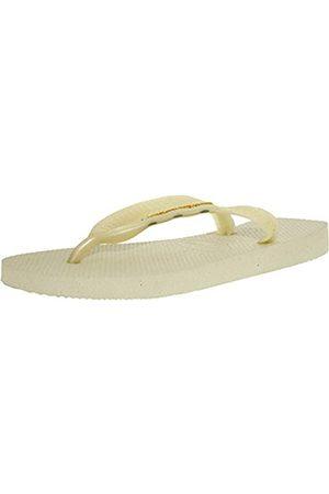 Havaianas Mujer Zapatos - Logo Metallic, Chanclas para Mujer, (White)
