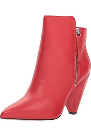 Kenneth Cole Mujer Botines - Galway Zip, Botines Mujer, (Red 600)