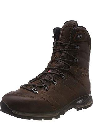 Lowa Yukon Ice GTX Hi, Zapatos de High Rise Senderismo Hombre, (Marronescuro 0493)