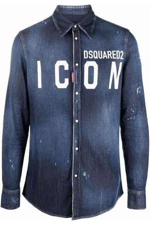 Dsquared2 Hombre Vaqueras - Camisa vaquera Icon