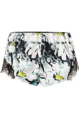 Sainted Sisters Shorts con motivo floral
