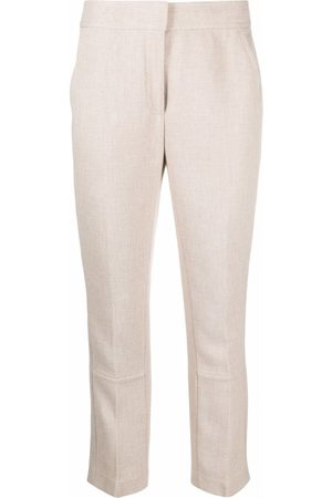 Tory Burch Pantalones con botones en los bajos