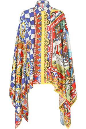 Dolce & Gabbana Mujer Estampadas - Camisa con varios estampados