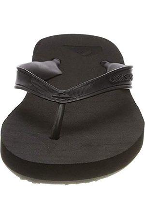 Quiksilver Hombre Sandalias - Carver Deluxe, Zapatos de Playa y Piscina Hombre, (Black/Black/Brown Xkkc)