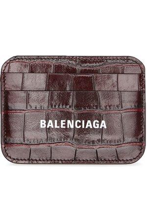 Balenciaga Tarjetero Cash con logo estampado