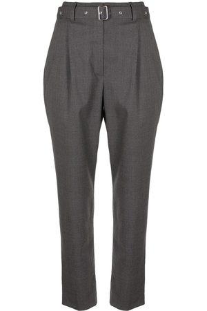 Proenza Schouler Mujer Pantalones capri y midi - Pantalones de vestir capri de corte carrot