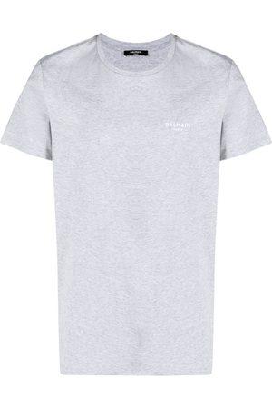 Balmain Hombre Sin mangas - Camiseta con logo estampado