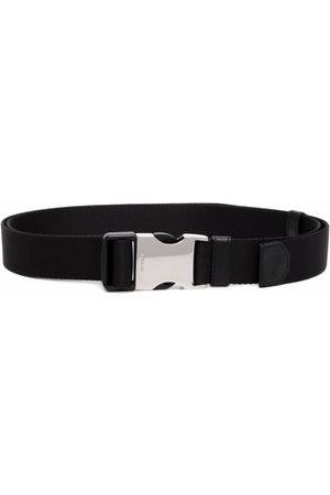 Prada Hombre Cinturones - Logo-engraved woven nylon tape belt