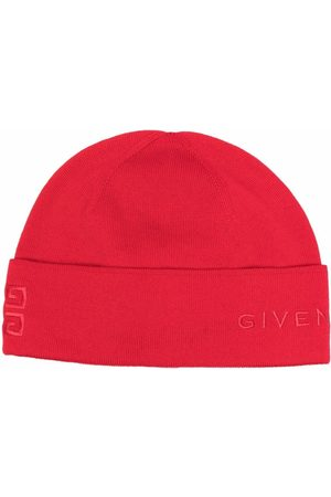 Givenchy Mujer Gorros - Logo-embroidered beanie