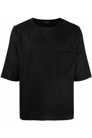 DELL'OGLIO Hombre Manga corta - Short-sleeve linen T-shirt