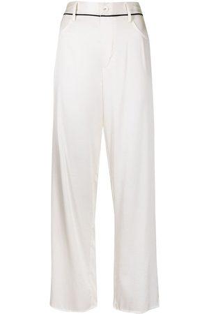 FLEUR DU MAL Mujer Pijamas - Pantalones de pijama de satén