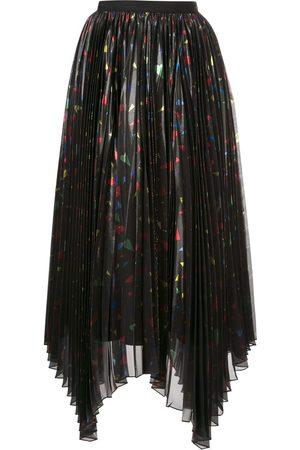 Semsem Mujer Plisadas - Falda asimétrica con pliegues