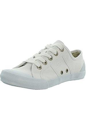 TBS Opiace, Zapatos de Cordones Derby Mujer, (Blanc S7007)