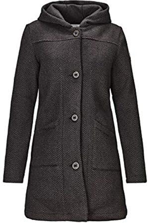 G.I.G.A. DX by killtec Kayimara - Abrigo de punto para mujer con capucha, chaqueta de entretiempo con bolsillos laterales, abrigo ligero, Mujer, 33049-000