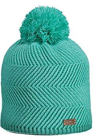 CMPI5 Gorro Knitted Colorido Pom, Accesorios para niña, Agua