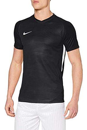 Nike Hombre Manga corta - M NK Dry Tiempo Prem JSY SS T-Shirt, Hombre, Black/Black/White/White