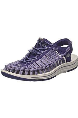 Keen Mujer Zapatillas deportivas - Uneek W Sandalias Mujer, Morado (Crown Blue/purple Sage)