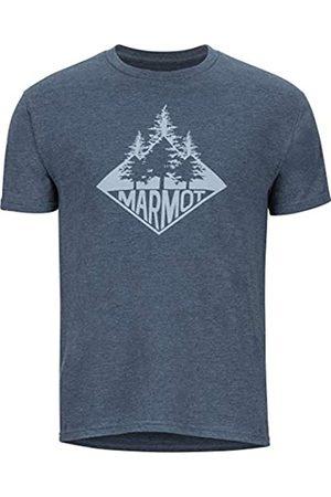Marmot Rising Forest tee SS Camiseta, Hombre