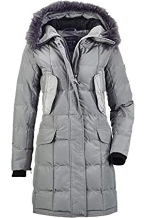 G.I.G.A. DX by killtec Ventoso WMN Quilted PRK G - Parka para mujer, aspecto de plumón, con capucha