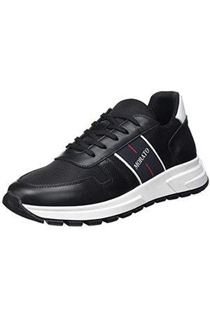 Antony Morato Sneaker Run Slide IN Nylon E Pelle, Oxford Plano Hombre