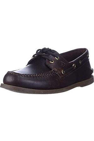Sperry Hombre Loafers - A/O 2-Eye Amaretto 0195214 - Náuticos de Cuero para Hombre, Color