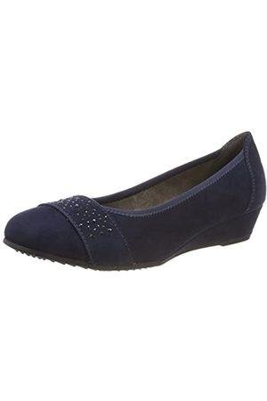 Soft Line Mujer Tacón - 22260-21, Zapatos de Tacón Mujer, (Navy 805)