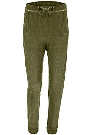 Freddy Mujer Pantalones y Leggings - Pantalón Largo de Terciopelo - Mayfly Cool Dyed - Extra Small