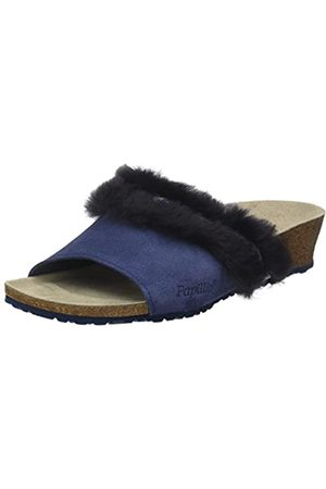 Papillio Mujer Zuecos - Amber, Mules Mujer, (Cosy Off Night Blue)
