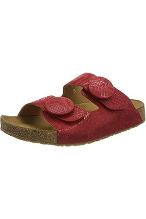 Haflinger Mujer Zapatos - Big Button Alina, Chanclas Mujer