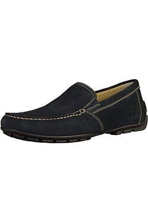 Geox Hombre Calzado formal - U Moner V, Mocasines Hombre, (Blue C4000)