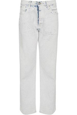 Maison Margiela   Mujer Jeans Regular Fit De Denim De Algodón 36