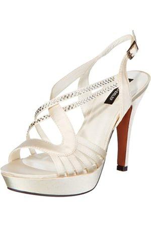 Victoria Delef Sandals 13V0560 - Zapatos de Pulsera de satén para Mujer, Color