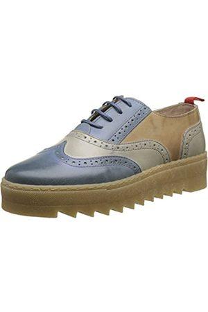 NoBrand Galactic 2, Zapatos de Cordones Brogue Mujer, (Jeans 02)