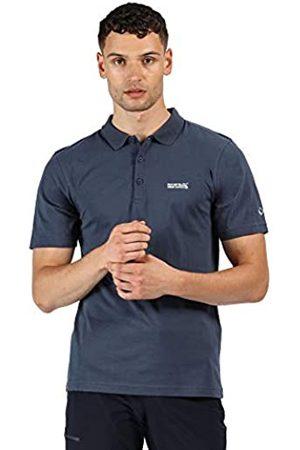 Regatta Sinton-Polo Deportivo Ligero con Cuello Acanalado De Algodón T-Shirts/Polos/Vests, Hombre