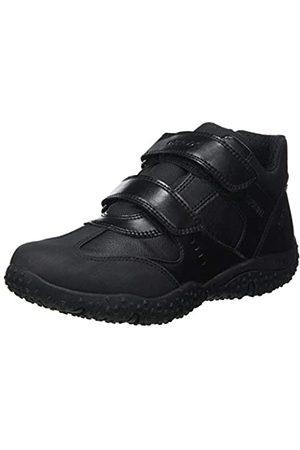 Geox JR Baltic Boy B ABX, School Uniform Shoe, (Black)